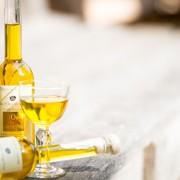Visuel-mignonettes et verre d'huile